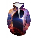 Hot Fashion Character 3D Printed Long Sleeve Unisex Loose Pullover Hoodie