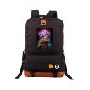 Hot Popular Figure Printed Unisex Traveling Bag Backpack 29*13*44cm