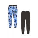 Guys New Fashion Shark Printed Drawstring Waist Casual Sunscreen Fishing Pants Sweatpants