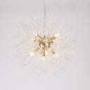 Home Decoration Charm Modern Crystal Chandelier 16