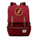 Popular Comic Flash Logo Printed Students School Bag Backpack 29*43*13.5cm