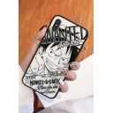 Fashion Black Comic Anime Character Printed Mobile Phone Case