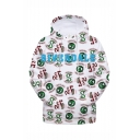 Popular South Side Serpents Snake Logo Printed White Relaxed Fit Long Sleeve Pullover Hoodie