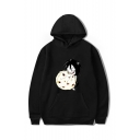 Creepypasta Funny Comic Figure Printed Long Sleeve Casual Sports Pullover Hoodie with Pocket