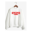 New Popular Mock Neck Long Sleeve Stranger Things Regular Fit Sweatshirt