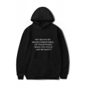 WHY BE RACIST SEXIST HOMOPHOBIC OR TRANSPHOBIC WHEN YOU COULD JUST BE QUIET Letter Printed Long Sleeve Casual Sports Hoodie