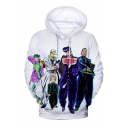 New Fashion Comic Character 3D Printed Long Sleeve Unisex Loose Pullover Hoodie