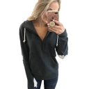 Fashionable Love Heart Printed Long Sleeve Color Block Zippered Hoodie With Pocket