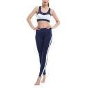 Womens New Trendy Mesh Panel Side Sport Athletic Skinny Fit Yoga Leggings