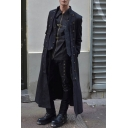 Men's Fashion Steampunk Vintage Jacket Victorian Medieval Costume Long Coat