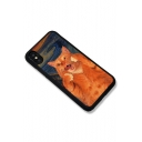 Funny Cartoon Cat Printed Mobile Phone Case for iPhone