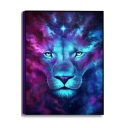 Fashion Blue and Purple Galaxy Oil Painting Wall Decor Art Picture Canvas 50*70cm