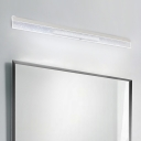 Ultra Thin Vanity Light with Bubble Acrylic Shade LED Modern Wall Mount Light for Bathroom