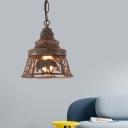 Creative Bear Pendant Ceiling Lights Modern Iron 1/2 Light Lighting Pendants with Chain for Gallery