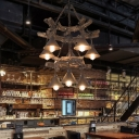 Modern Cone Ceiling Lights Iron and Resin Novelty Hanging Pendant Lights for Coffee Shop and Bar