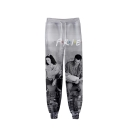 Hot Popular Friends 3D Figure Printed Drawstring Waist Sport Joggers Sweatpants