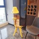 Super Cute Animal Night Light Fabric 1 Head Plug in Floor Lamp for Children Kids Bedroom