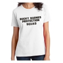 Bucky Barnes Protection Squad Simple Letter Printed Short Sleeve Loose Tee