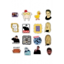 Funny Friends Cartoon Figure Pattern Office Luggage Laptop Waterproof Paper Sticker 50-Piece
