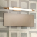 Metal Acrylic LED Wall Light Fixtures Modern Linear Sconce Wall Lamps for Bedroom Bathroom