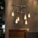 Unique Faucet Hanging Lights Retro Industrial Metal Pipe Pendant Lighting for Coffee Shop