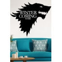 Winter Is Coming Wolf Head Painting Fancy Wall Decor Art Picture Canvas 42*36cm