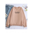 Popular Letter Sweetener World Tour Printed Crewneck Long Sleeve Pullover Sweatshirt