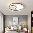 Circular Ceiling Flush Light Modernism Acrylic Integrated Led Ceiling Mounted Light