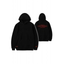 Fashion Kpop Boy Band Logo Love Yourself Letter Printed Unisex Hoodie