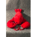 Funny Cute Cartoon Lobster Shaped Red Doll Toy Pillow
