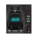 Cool Sword Letter Valar Morghulis Printed Creative USB Charge Students School Bag Backpack 30*15*44cm