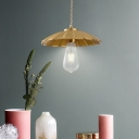 Loft Industrial Cone Hanging Ceiling Light Single Light LED Pendant Light with Brass Metal Shade