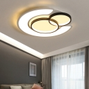 Acrylic Ultra Thin Flush Light with Round Design Contemporary Led Flush Mount