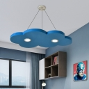 Cute Cloud Ceiling Light Fixture Contemporary Modern Iron and Acylic Ceiling Lighting for Bedroom