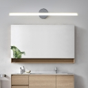 Acrylic Tube Wall Lighting Adjustable Modern Integrated Led Bath Bar for Bathroom