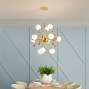Mid Century Modern Sputnik Chandelier Light Metal 11/12/18 Lights 23.5