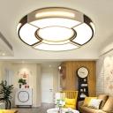 Unique Round Ceiling Fixture Modern Acrylic 16