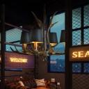 Black Fabric Cone Hanging Chandelier with Antlers Design Vintage 4/6/8/10/15 Lights Hanging Ceiling Light