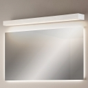 Minimalist Rectangle Wall Mount Light Waterproof Metal Led Bathroom Lighting