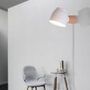 Tapered Wall Mounted Light Modern Metal 4