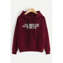 Funny Letter ITS A BEAUTIFUL DAY TO SAVE LIVES Printed Long Sleeve Regular Fit Drawstring Hoodie
