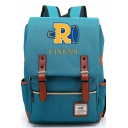 New Stylish Letter R VIXENS Printed Casual School Bag Travel Backpack