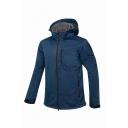 Mens Popular Long Sleeve Zip Up Cationic Fabric Hooded Jacket Outdoor Ski Windbreaker