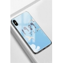 New Trendy Letter LOVER 1989 Printed Shinning Diamond Design Phone Case for iPhone