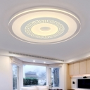 Ultrathin Acrylic Disc Flush Lamp 16