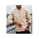 Men's Trendy Plain Long Sleeve Stand-Collar Zip Up Running Sport Slim Bomber Jacket