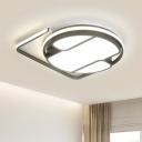 Black and White Geometric Ceiling Light 16