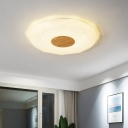 Geometric Acrylic Ceiling Fixture Modern Stylish 14.5