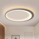 Nordic Style Oval Ring Ceiling Light 12