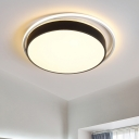 Simple LED Flush Mount Light 10